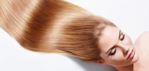 تفتيح لون الشعر طبيعياً