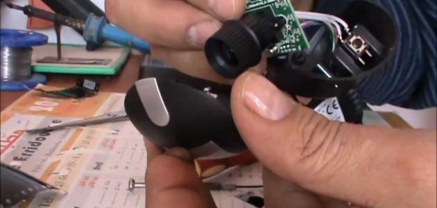 كيفية صنع جهاز الرؤية الليلية بالأشعة تحت الحمراء