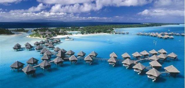 تقرير عن جزيرة بورا بورا