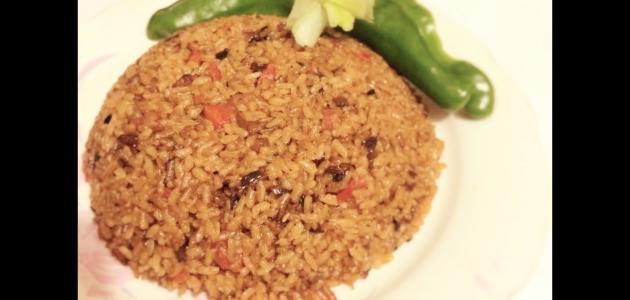 كيفية تحضير أرز الصيادية