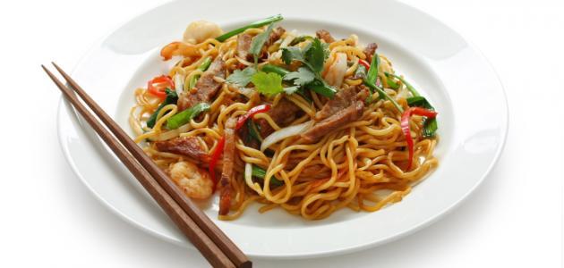 طريقة عمل أكل صيني