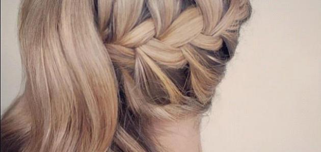 طريقة ضفر الشعر