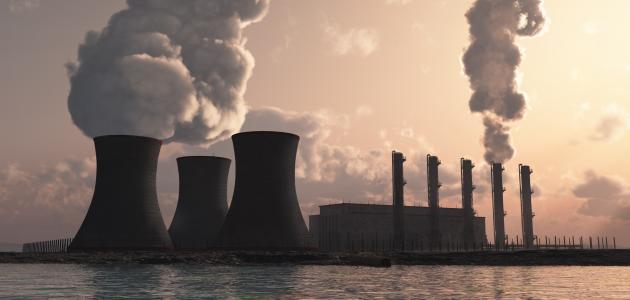 تلوث الماء والهواء موضوع