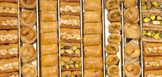 حلويات شرقية بسيطة