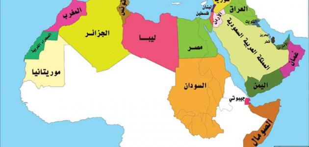 عدد دول الوطن العربي