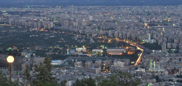 عدد سكان دمشق