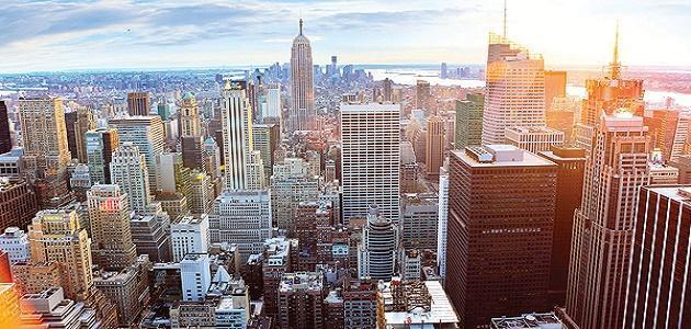 عدد سكان نيويورك