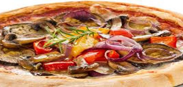 طريقة عمل بيتزا الخضار
