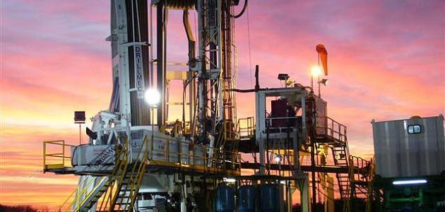 حفر آبار النفط