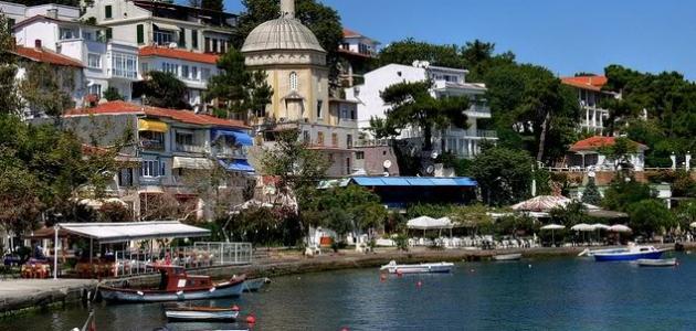 تقرير عن جزيرة الأميرات في تركيا