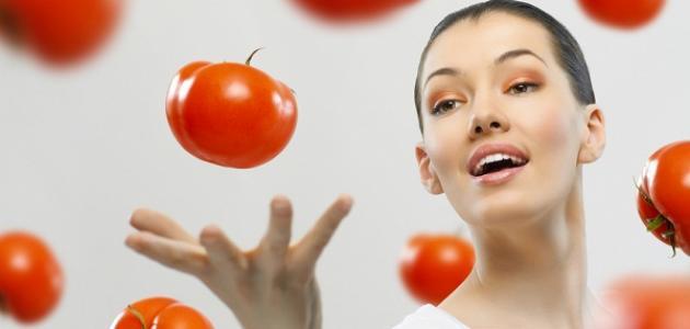 فوائد البندورة للبشرة