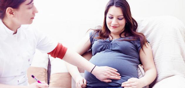 كم وزن الجنين في الشهر السادس