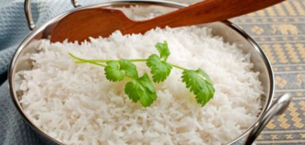 طرق عمل الأرز البسمتي