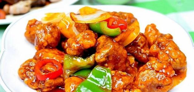 طريقة الأكل الصيني