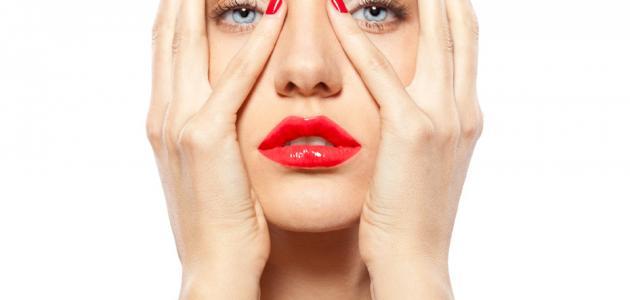 طريقة لتنحيف الوجه