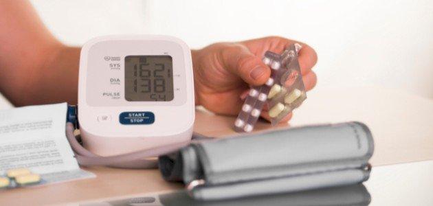 أعراض ارتفاع الضغط