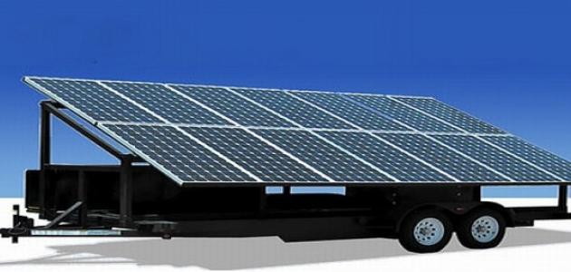 مولد كهرباء بالطاقة الشمسية