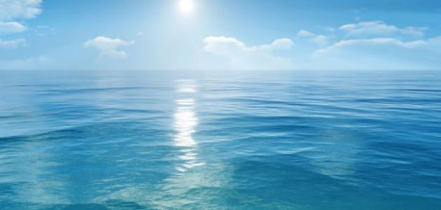 حكم عن البحر