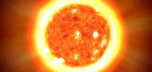 الشمس مصدر للحرارة والضوء