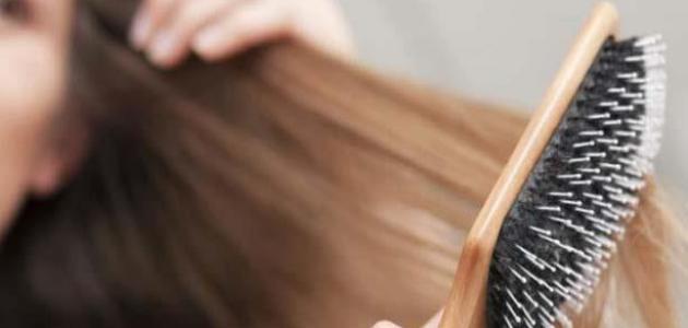 حل مشكلة تساقط الشعر