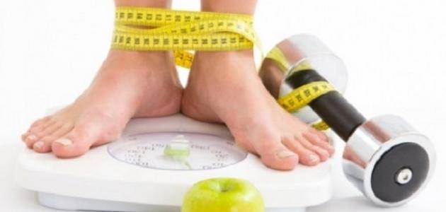 مشكلة ثبات الوزن