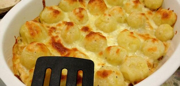 طريقة صينية كرات البطاطا
