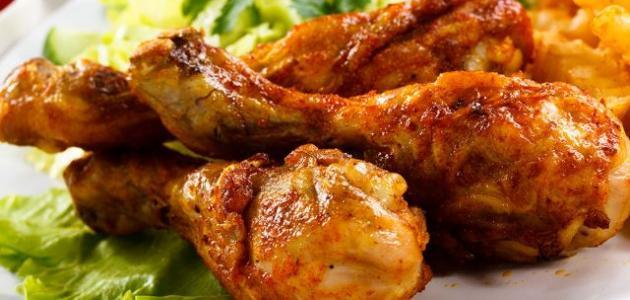 طريقة شوي الدجاج بالفرن الكهربائي