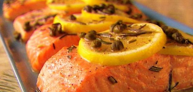 طريقة طبخ السمك بالفرن