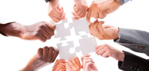 أمثال عن التعاون