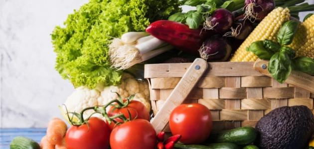 طريقة حفظ الخضروات